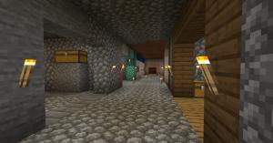 tunnels in Minecraft