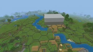outline structure of an NES in minecraft